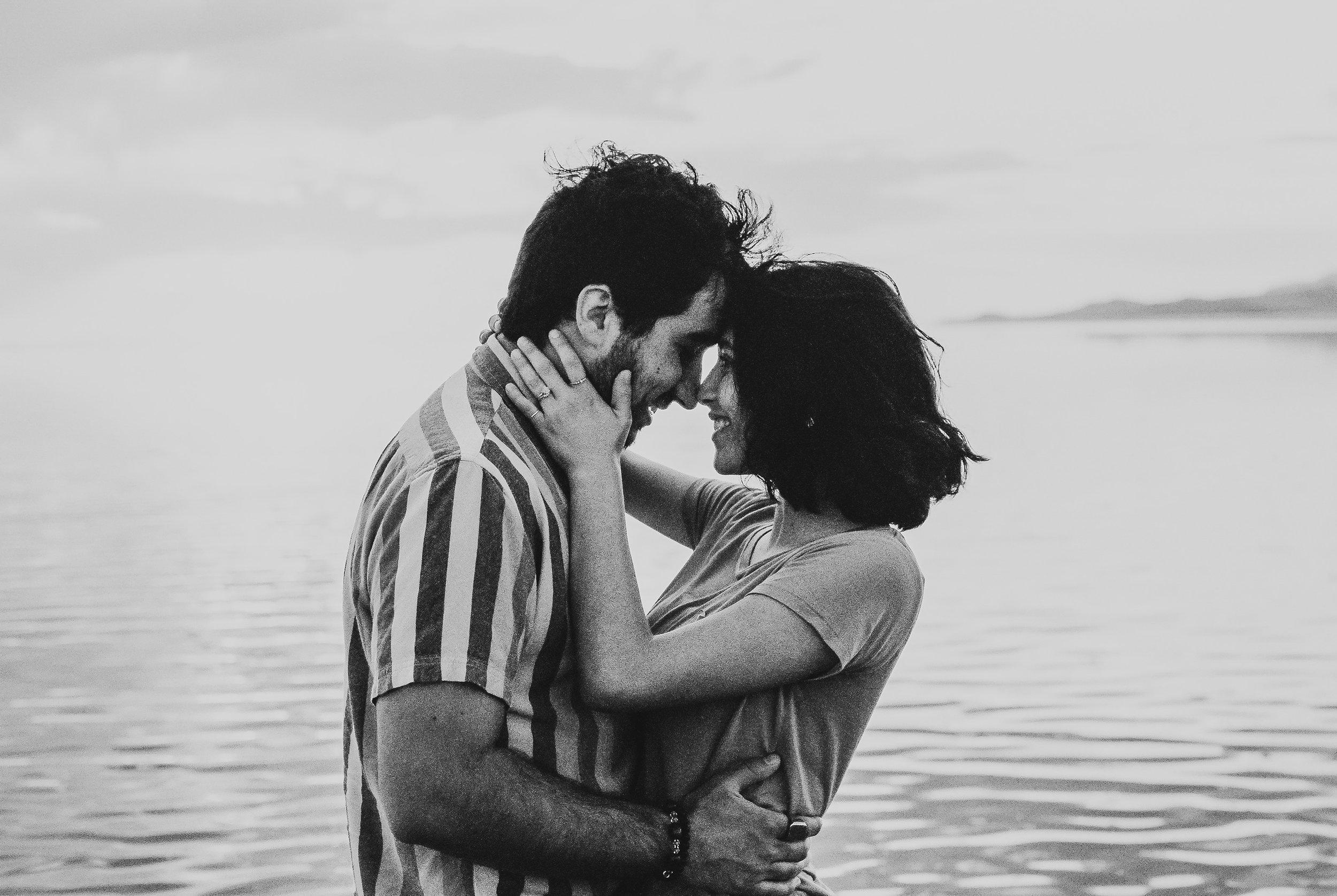 Antelope Island, Utah, Couple Session