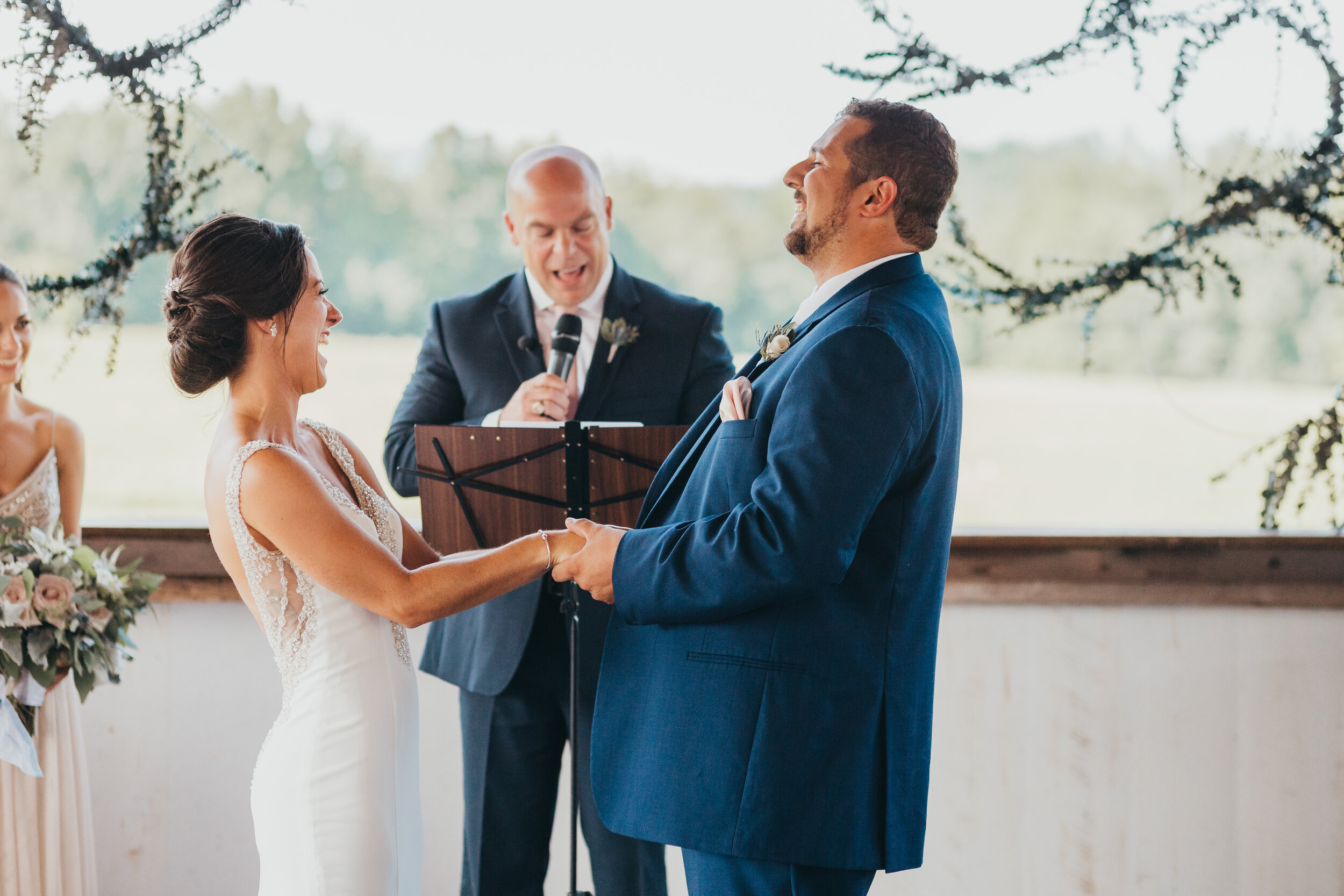 "Christina & Eric - ""When the time started to get crunched due a weather delay, she turned into a boss lady getting all of our family photos done (and there were a LOT of them) in a quick and efficient manner."""