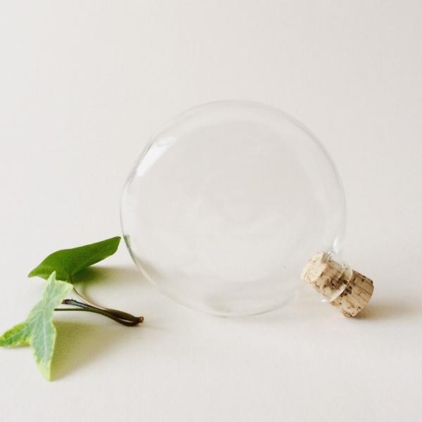 Hand Blown Glass Pocket Flask - Brook Drabot Glass