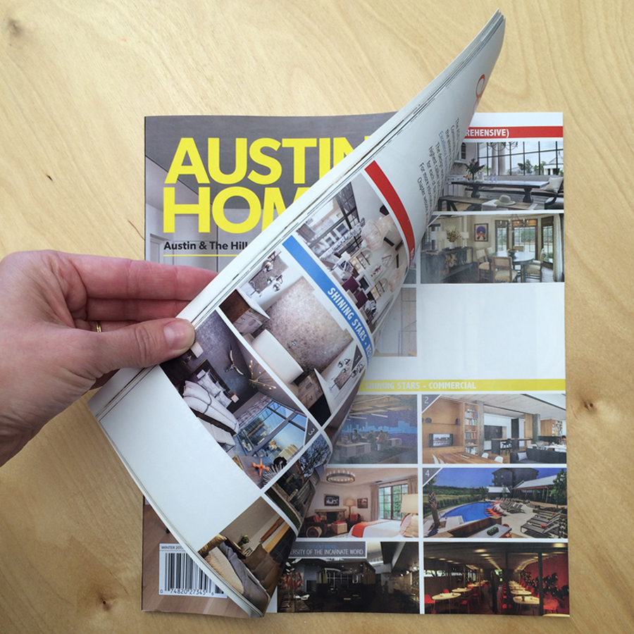 Austin Home  Featured for our ASID Design Excellence Award in the Large Corporate Space category.