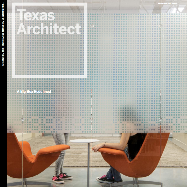 Texas Architect  Our design for Rogue Running was featured in the Retail Redevelopment and Design issue of Texas Architect.