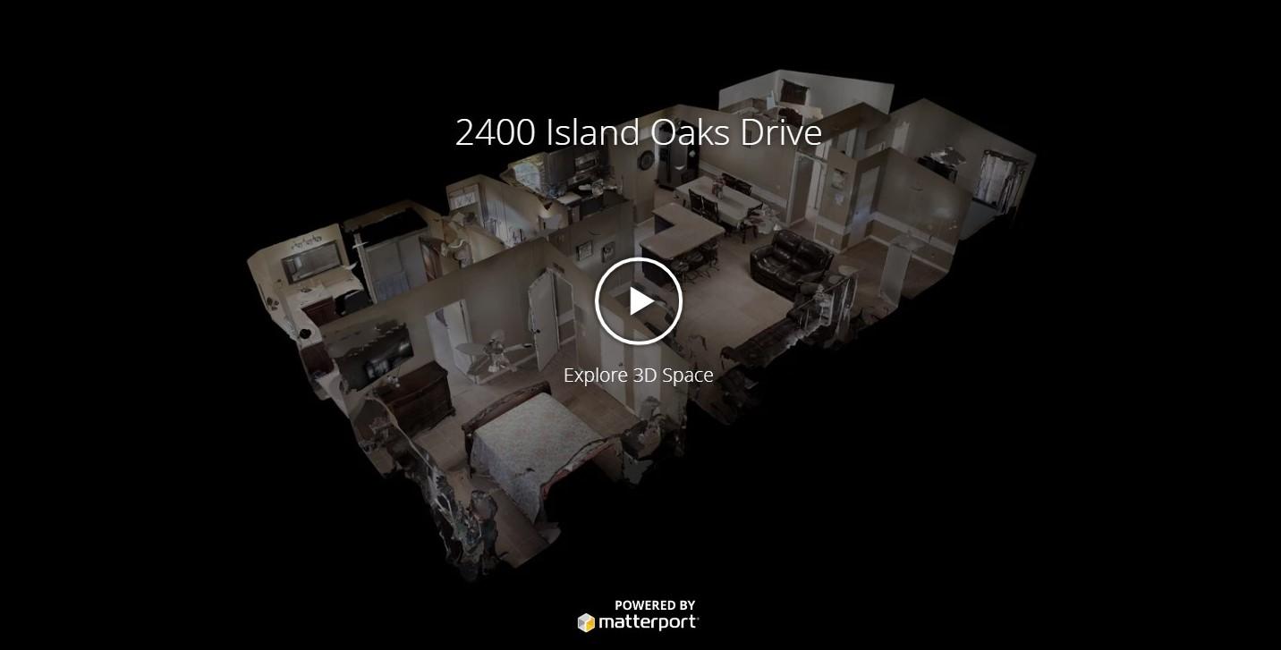 2400 Island Oaks Drive - 1 acre property!