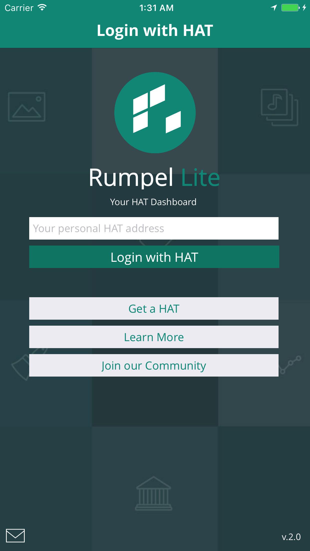 Rumpel Lite iOS app