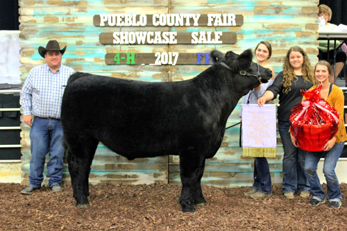 Reserve Grand Champion Beef  Buyer: Blende Drug Price: $6,000.00 Seller: Sydney Mauro