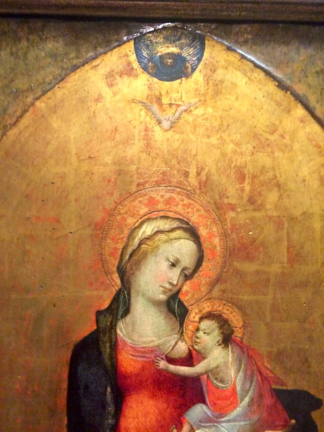 Quattrocento Icon (inspiration for the Classic Spanish Red Bole), National Gallery, Vienna Austria