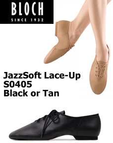 Bloch Jazzsoft Lace-up Jazz Shoes S0405