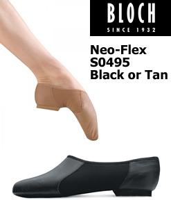 Bloch Neo-Flex Slip On Jazz Shoe S0495