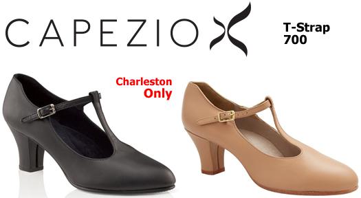 Capezio T-Strap Character Shoe 700
