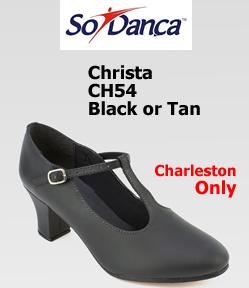 Só Dança Christa T-Strap Character shoe CH54