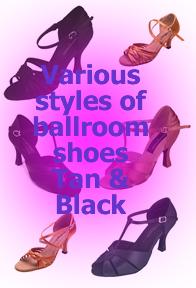 GoGo Ballroom Shoes