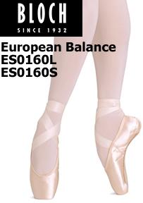 Bloch European Balance Pointe Shoe ES0160