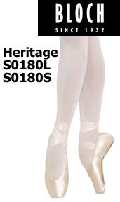 Bloch Heritage Pointe Shoe S0180