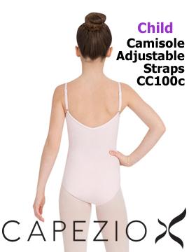 Capezio Cami Leo with Adjustable Straps CC100C