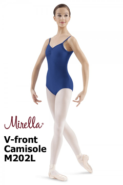 Mirella V-Front Cami Leotard M202L