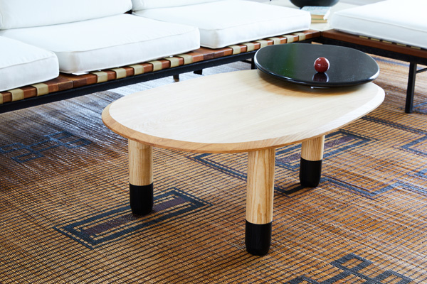 Limbic is the brainchild of my long-time colleague and design director Paula Rodriguez. The coffee table we chose is not only beautiful but it's design is well thought out and playful. Handmade from the best materials while maintaining practical yet avant-garde designs, not to mention approachable pricing.