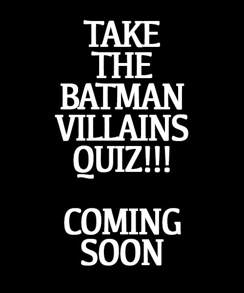 We all know the villains are way more interesting than Batman! If you were up to no good in Gotham, find out which Batman Villain you would be, from Joker to Catwoman to Mr. Freeze. Based on the personality test used to analyze inmates in Arkham Asylum.