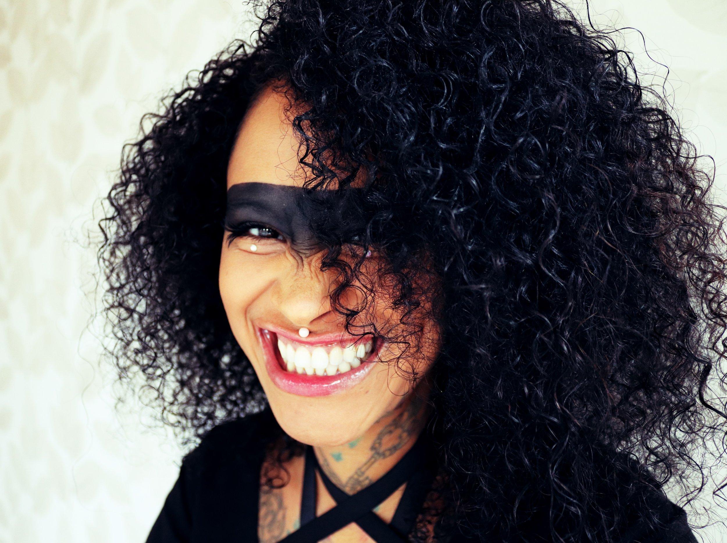 Seeing all black. - Katja Eisenträger, Bête Noire Creative Director