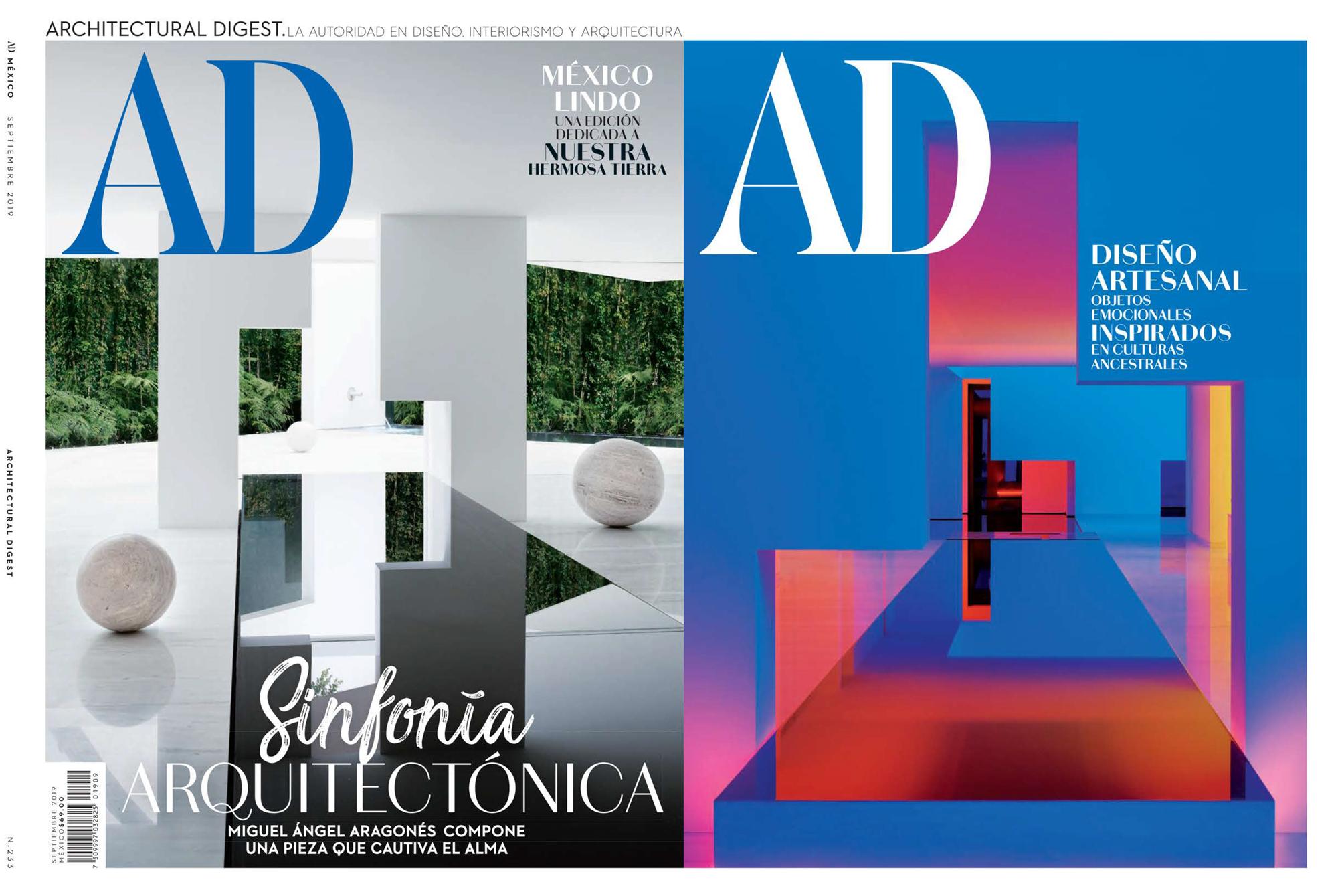 Architectural Digest México - September 2019