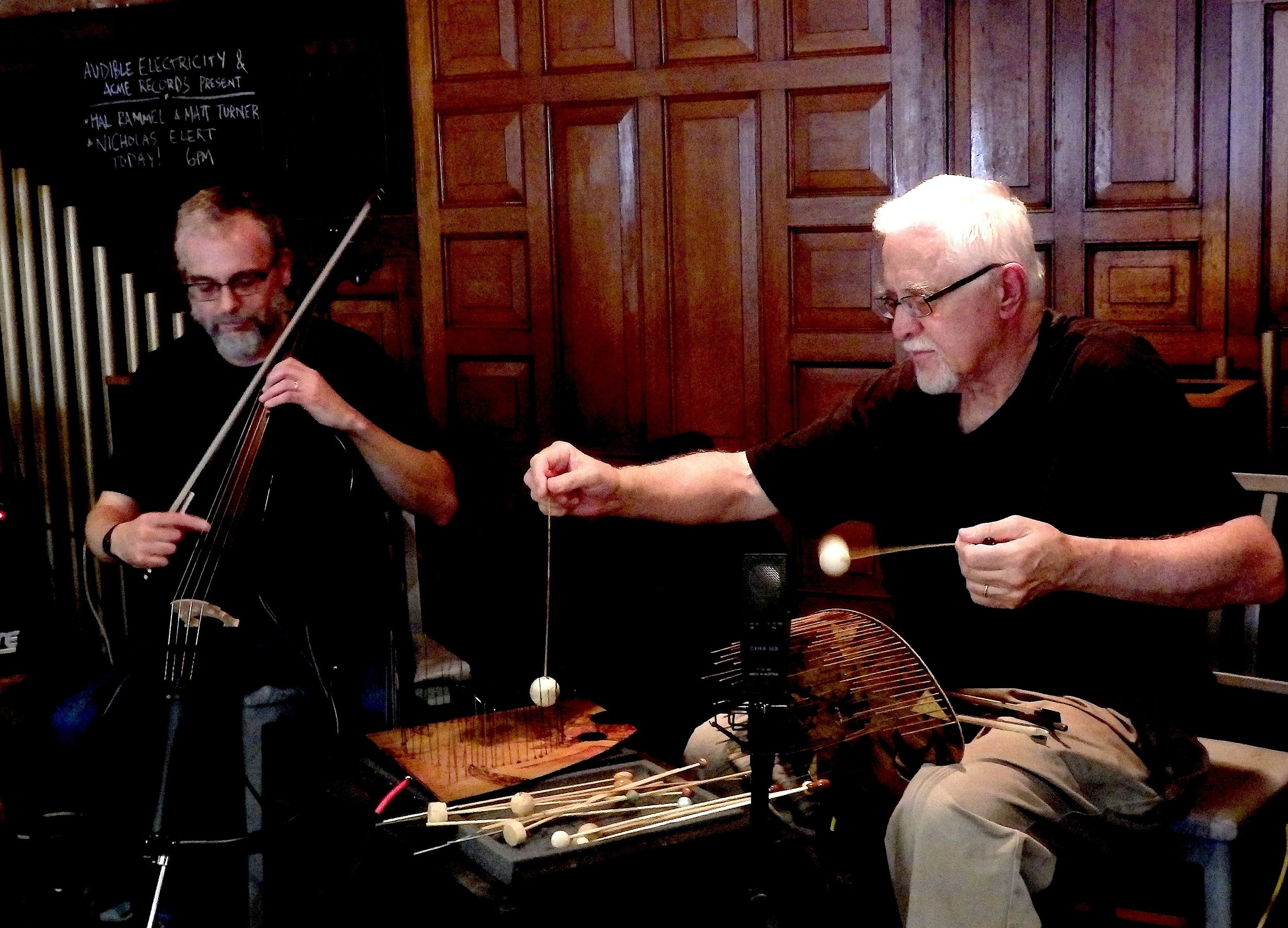 Matt Turner and Hal Rammel at Acme Records & Music Emporium, Milwaukee, 2016