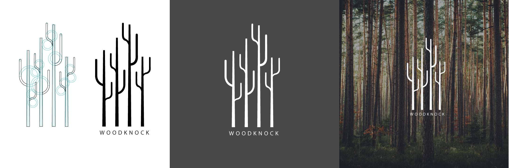 WoodKnock Logo Variation