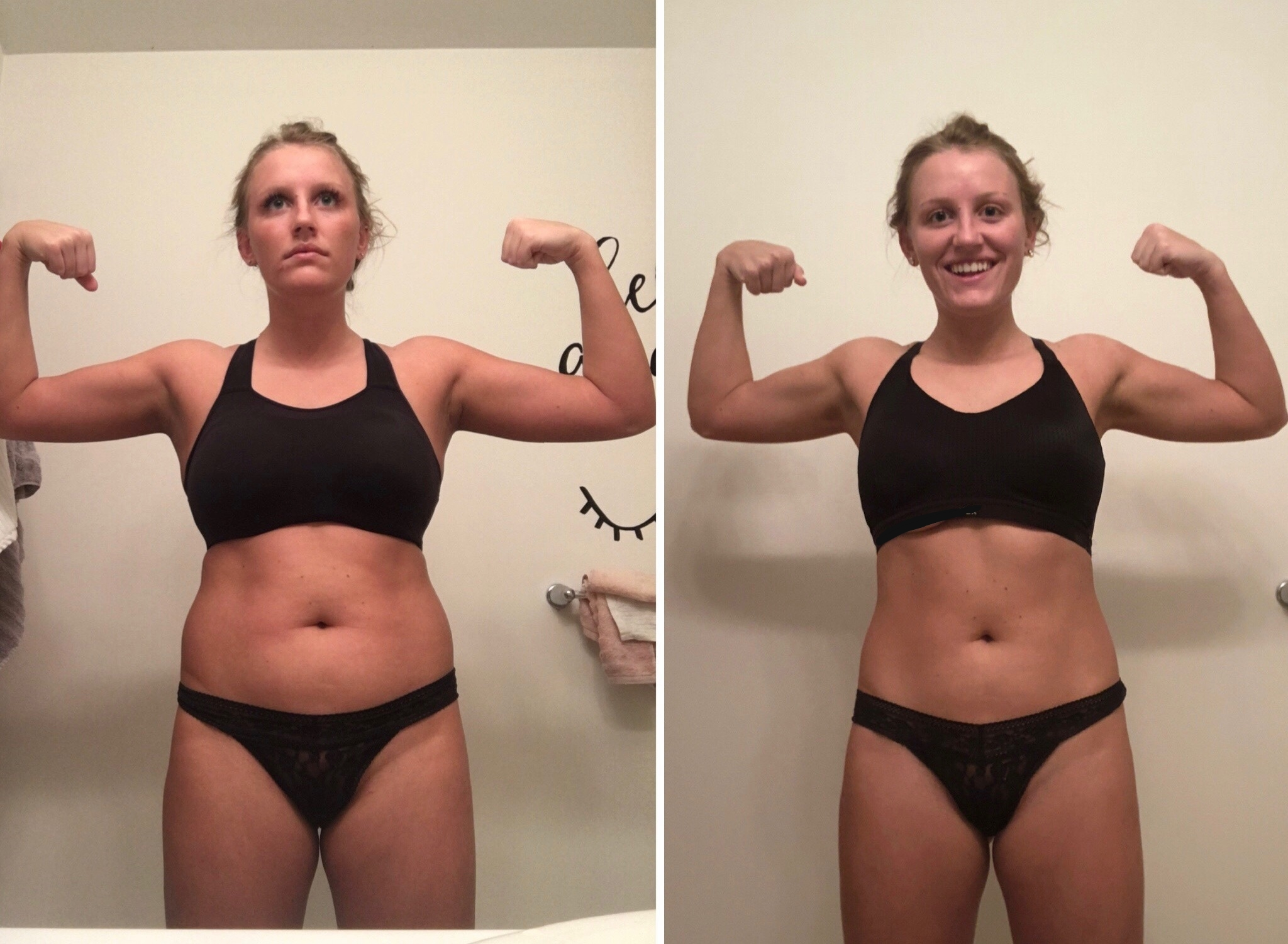 12-Week Training & Nutrition- Lost 10lbs, built muscle, and gained confidence!