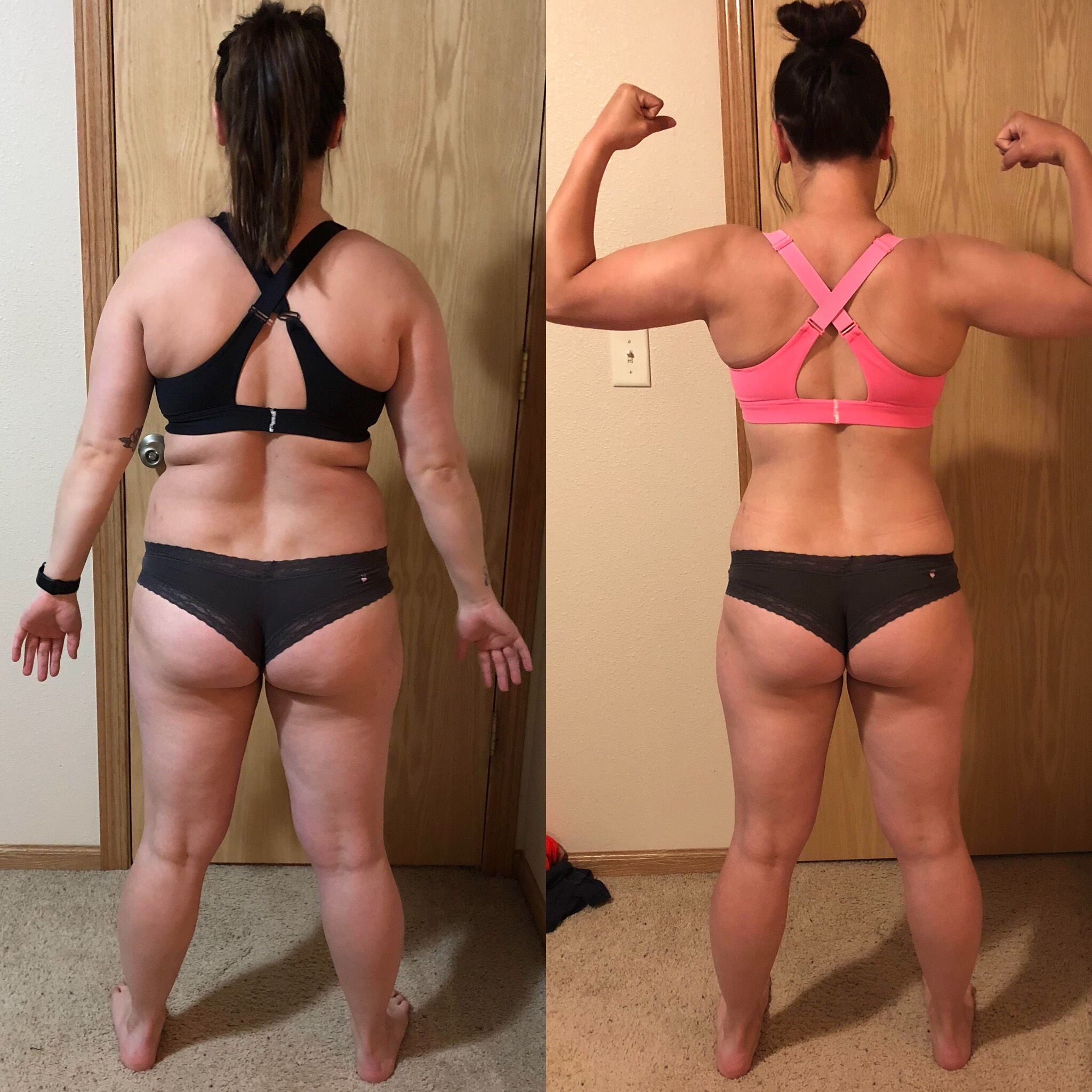 Take The First Step- Lost 18lbs, built muscle, and gained confidence!