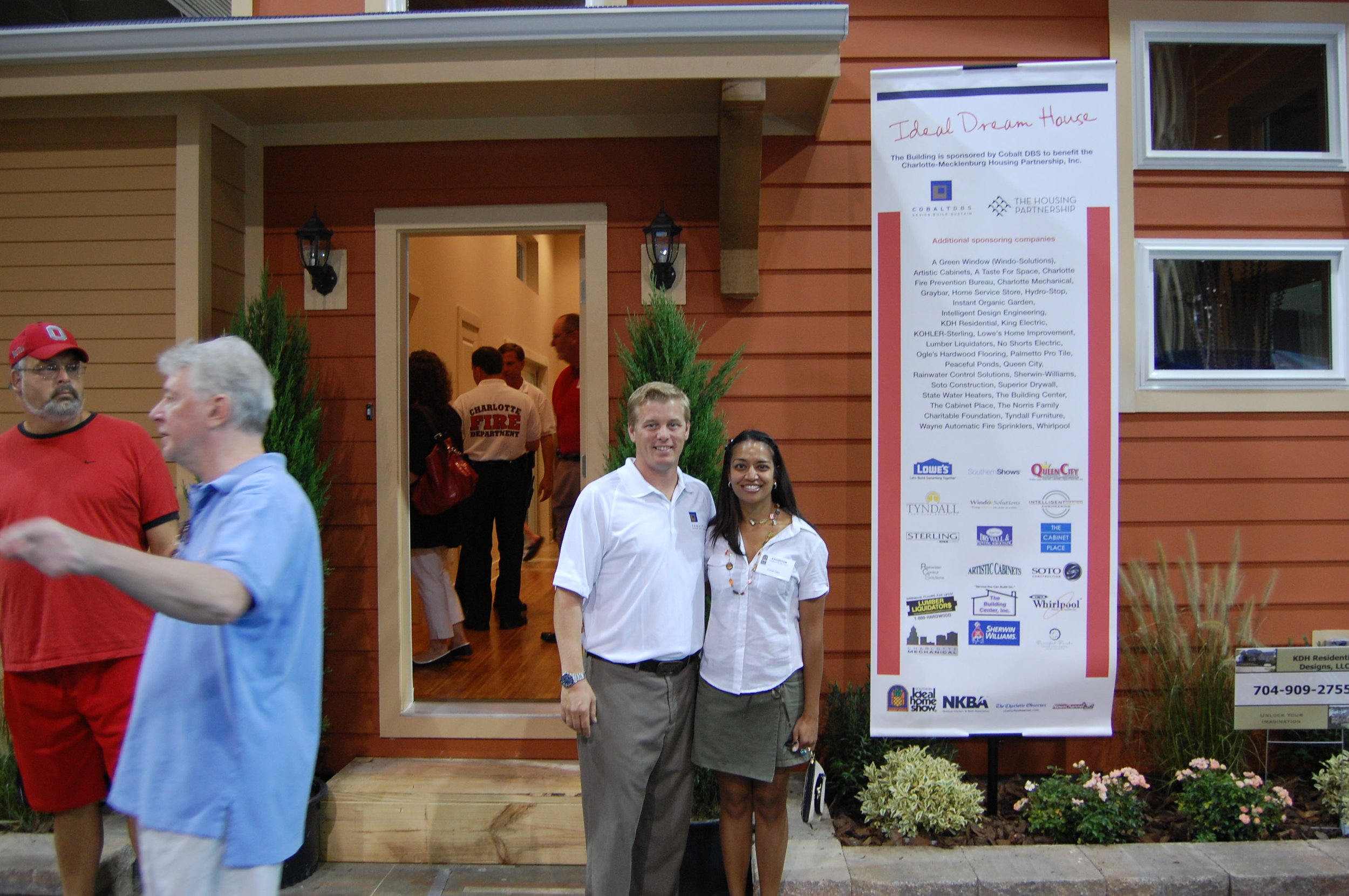 Panchali & Chad in front of IDH.JPG