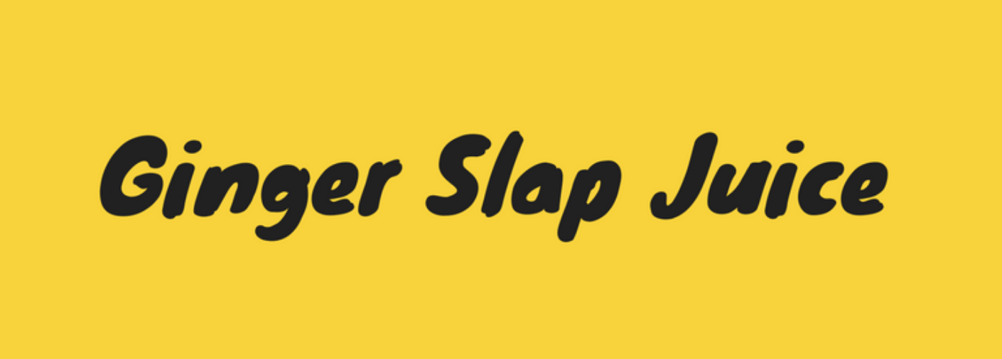 Ginger Slap Juice