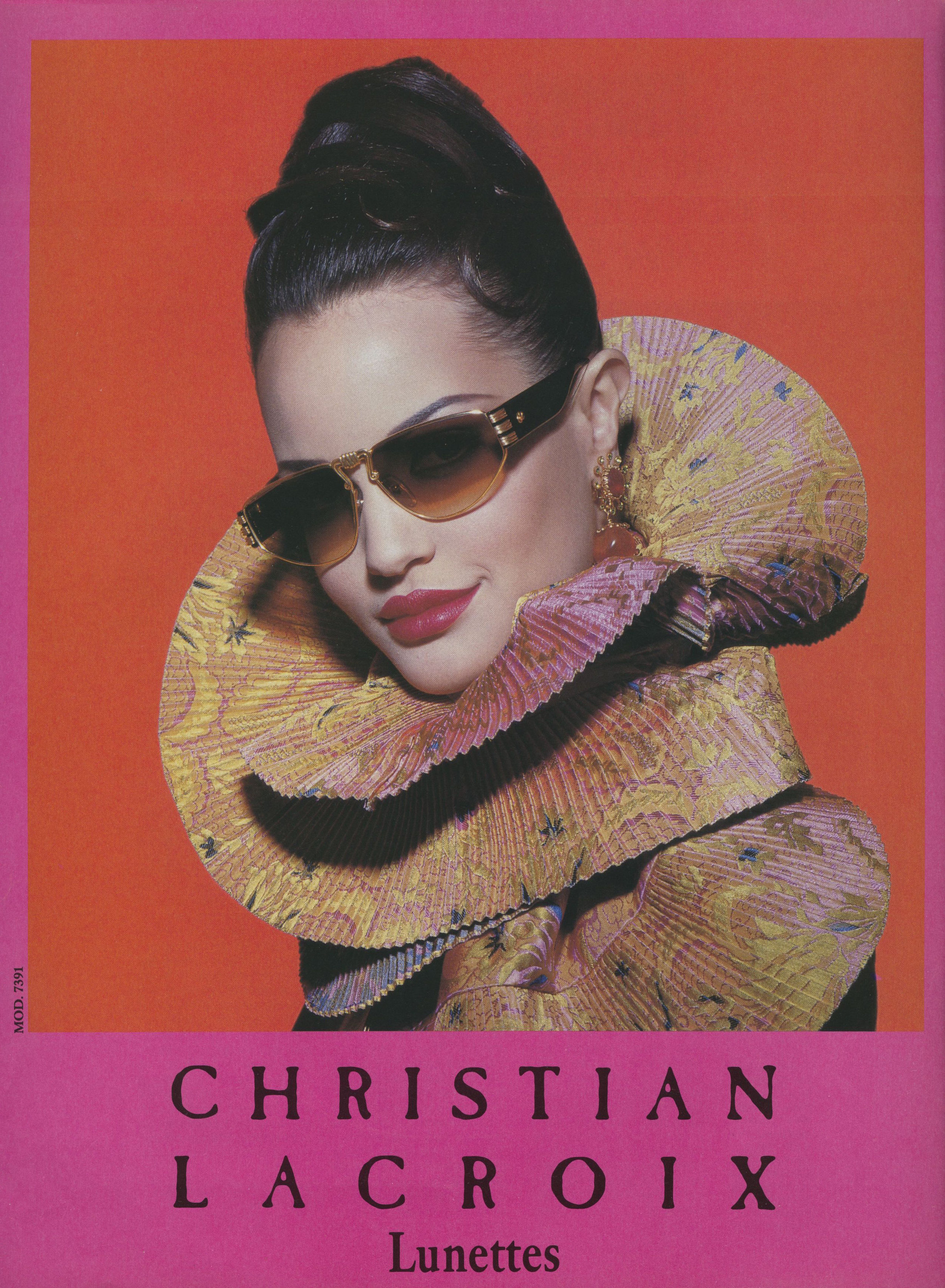 Christian Lacroix Campaign, Tyen