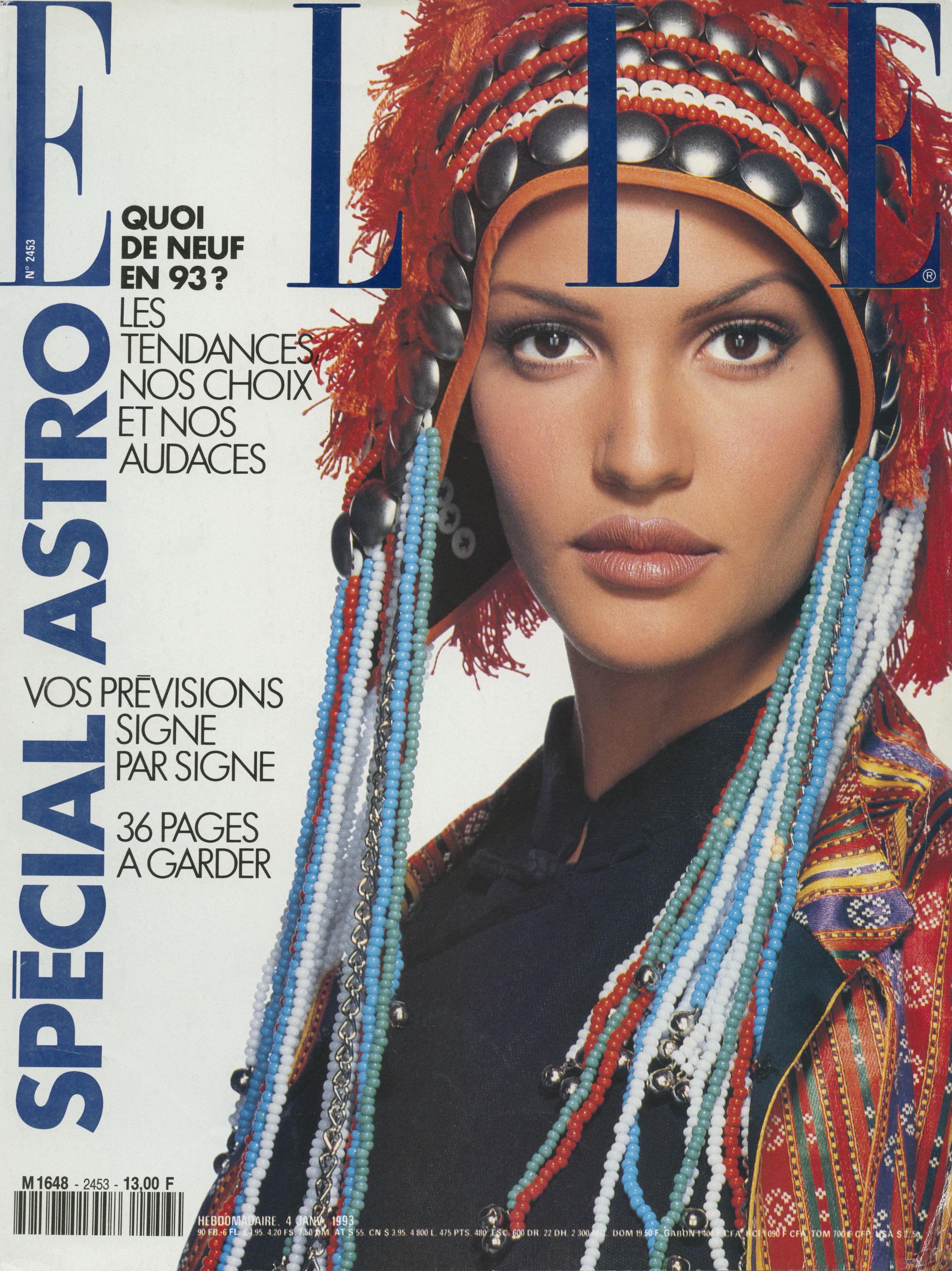 Elle France Cover, Gilles Bensimon