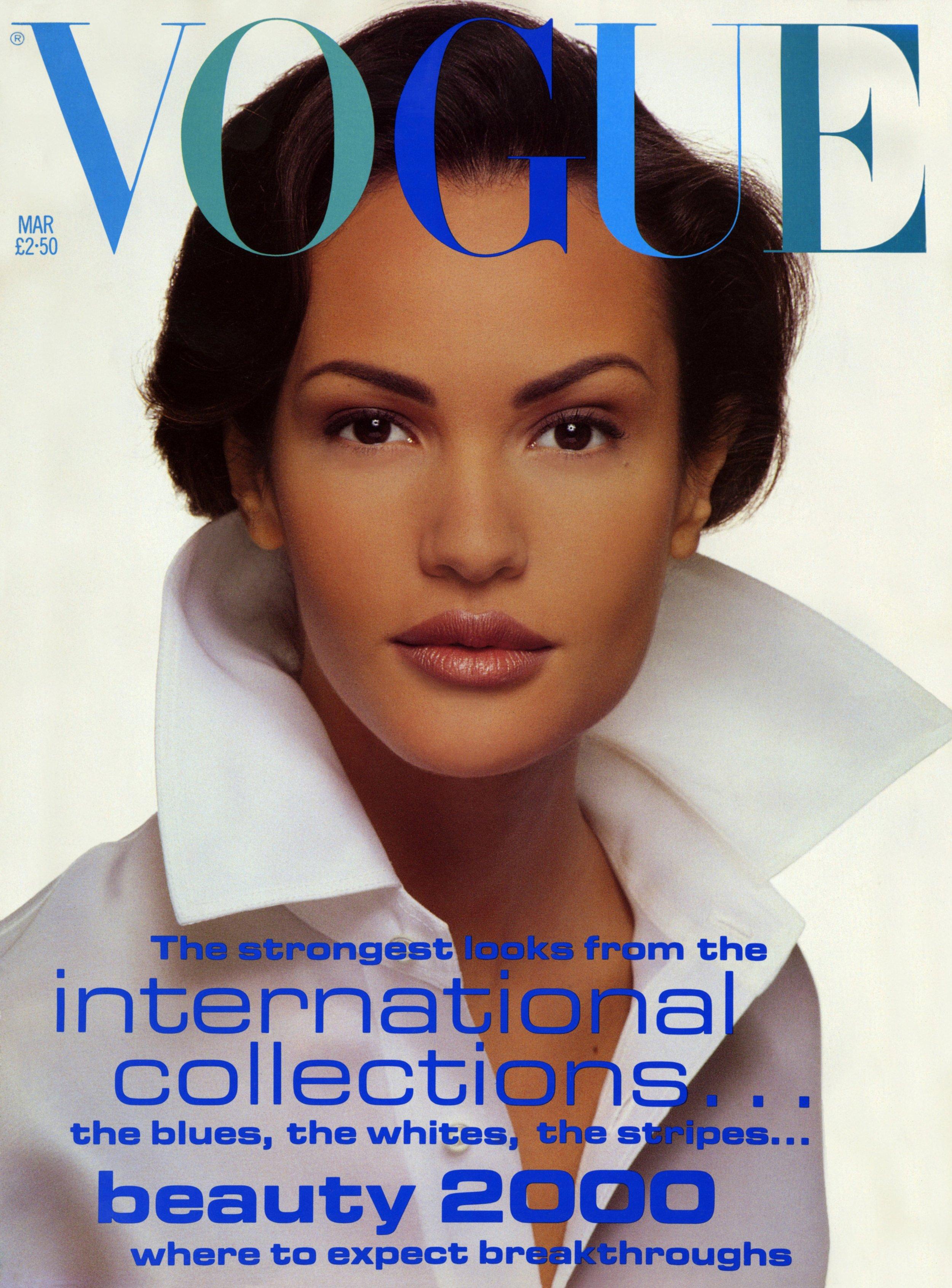Vogue UK Cover, David Bailey