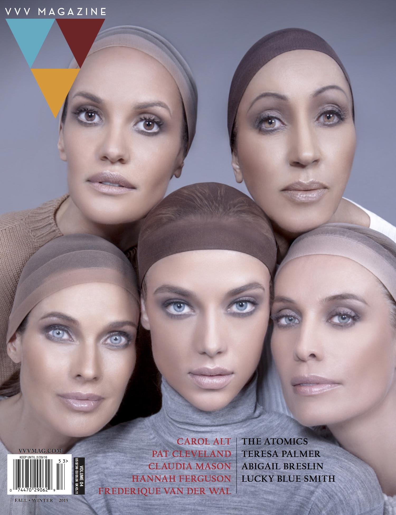 VVV Magazine Cover, Luke Duval