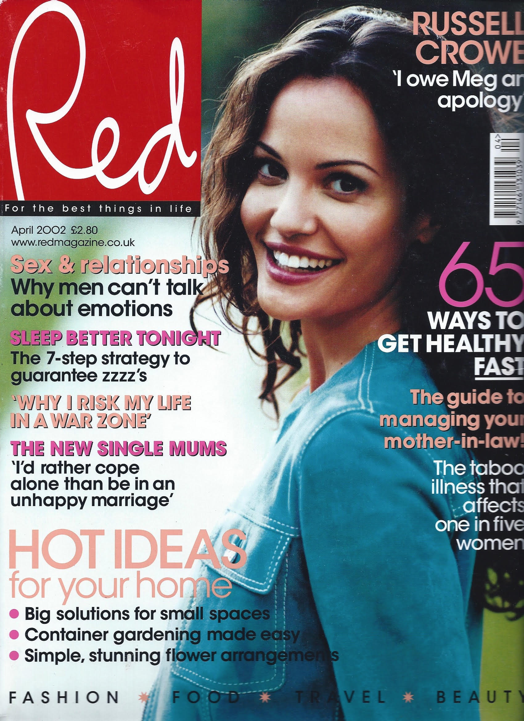 Red Magazine Cover