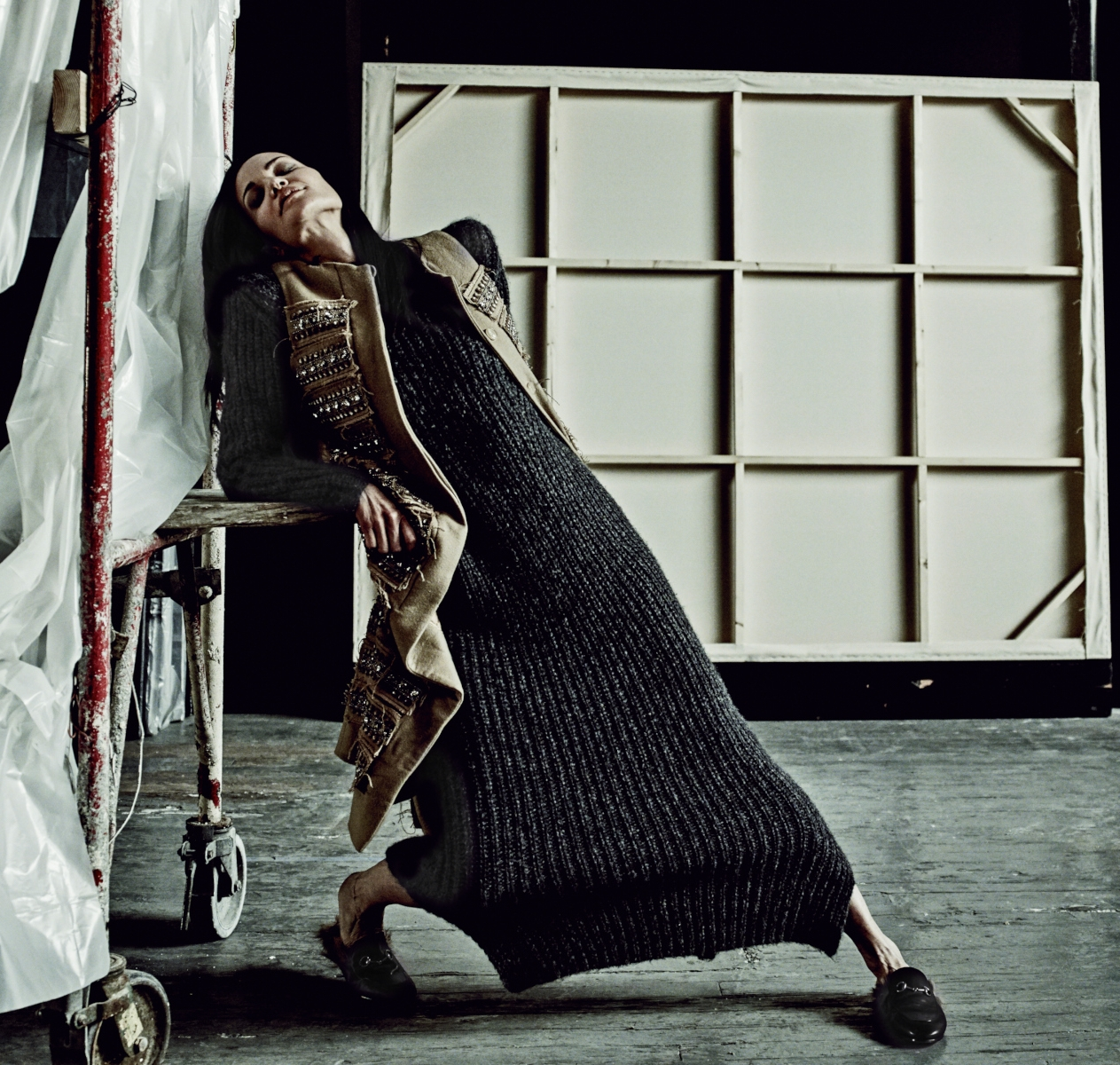 Vogue Italy Editorial, Michel Comte