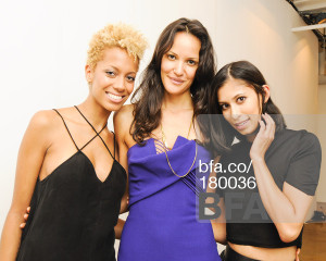 Me with Carly Cushnie and Michelle Ochs wearing one of their fab creations