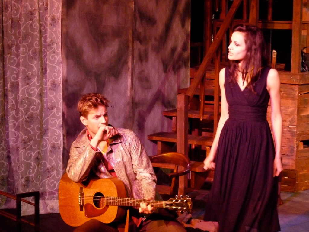 Onsatge in Orpheus Descending with Gale Harold