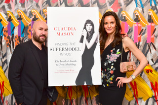 Serge Normant Hosts Claudia Mason's Book Party At His Salon In NY
