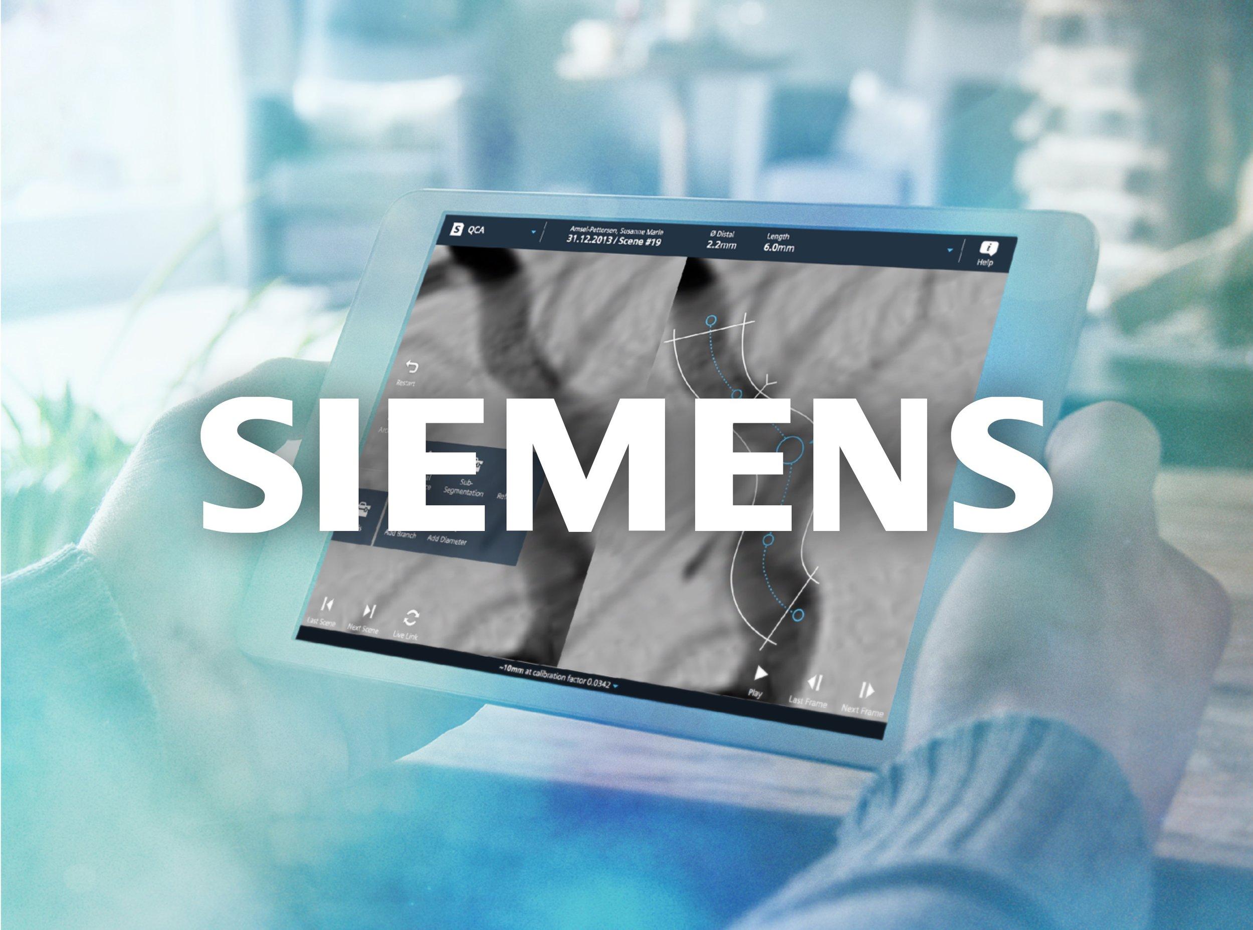 Siemens Healthcare UX design 2014–2015   Siemens Healthcare