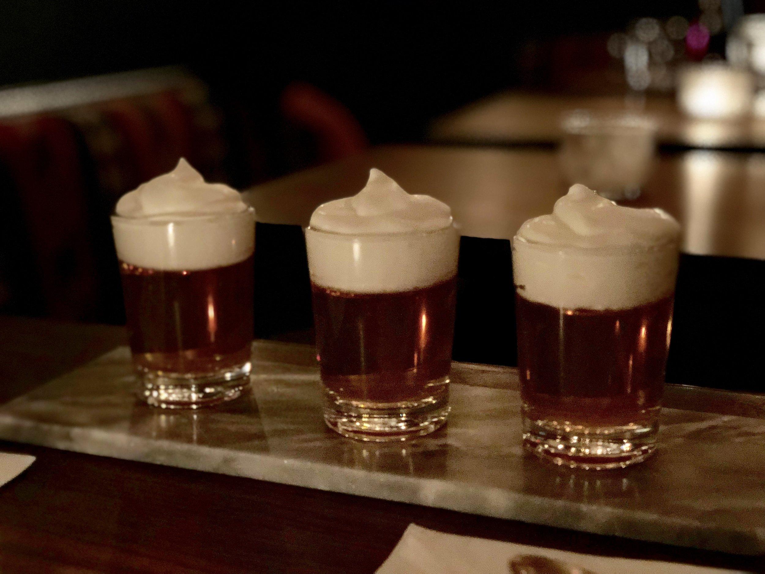 Wine Jello-O Shots at Lois Wine Bar