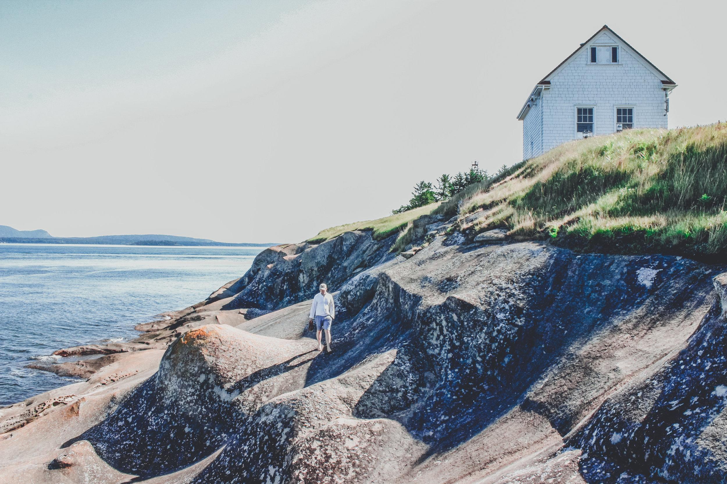 East Point Lighthouse, Saturna Island