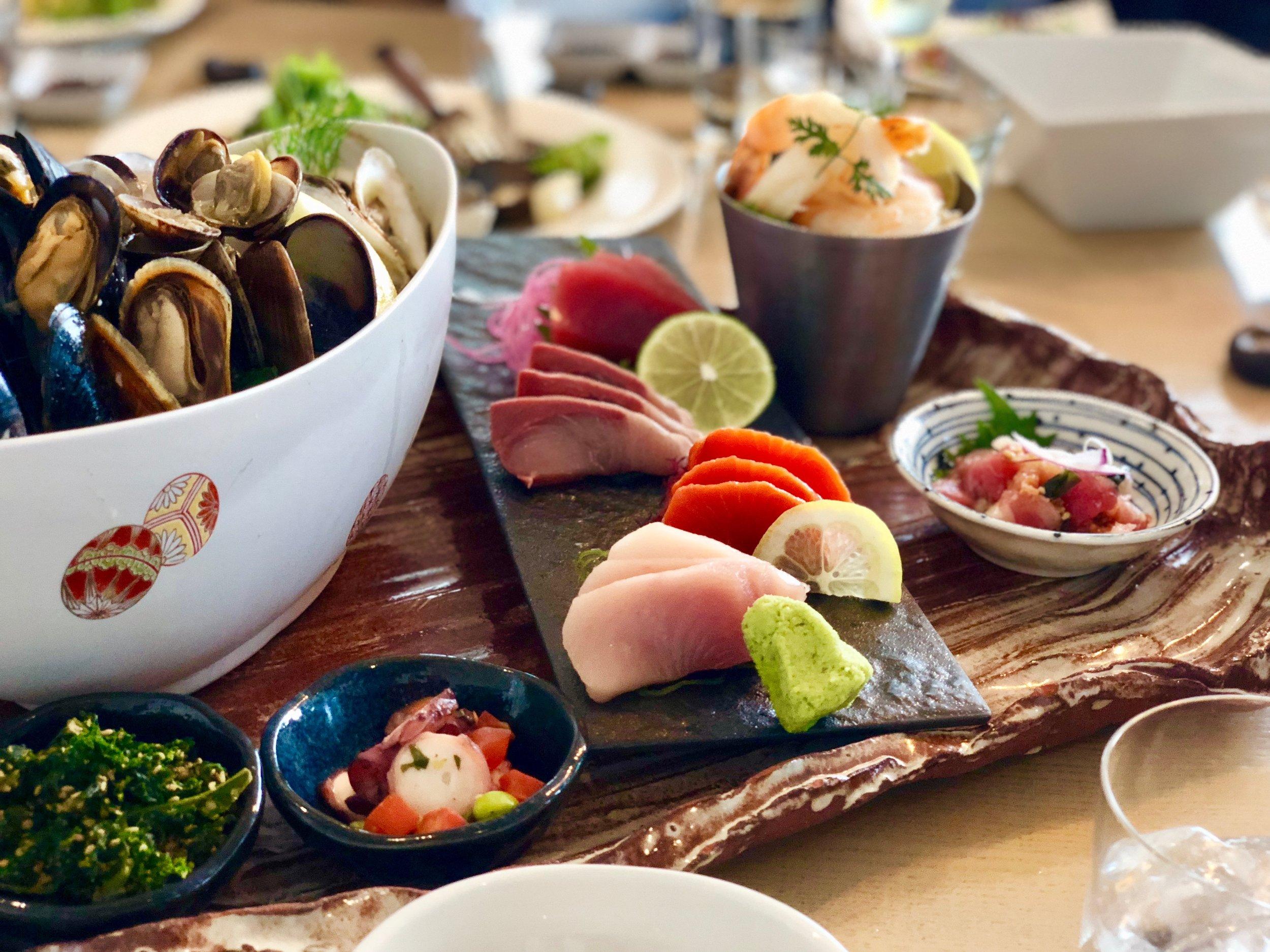 Miku Seafood Platter