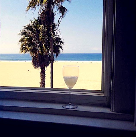 What if paradise was just a palm tree away? #venice #losangeles #cali #socal #beach #sunset #palmtrees #sand #cocktail