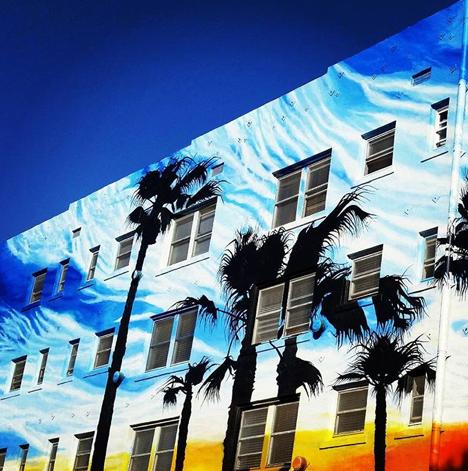 The exterior was designed to reflect the splendor of Venice ... wait 'til you see the inside! #venicebreeze #lavish #style #design #awardwinning #suites #Venice #socal #losangeles #vacation #resort
