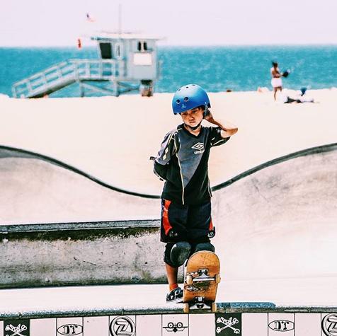 Venice is the prime spot for kids of all ages. Have you skated Venice? #skatevenice #halfpipe #skater #culture #skatesesh