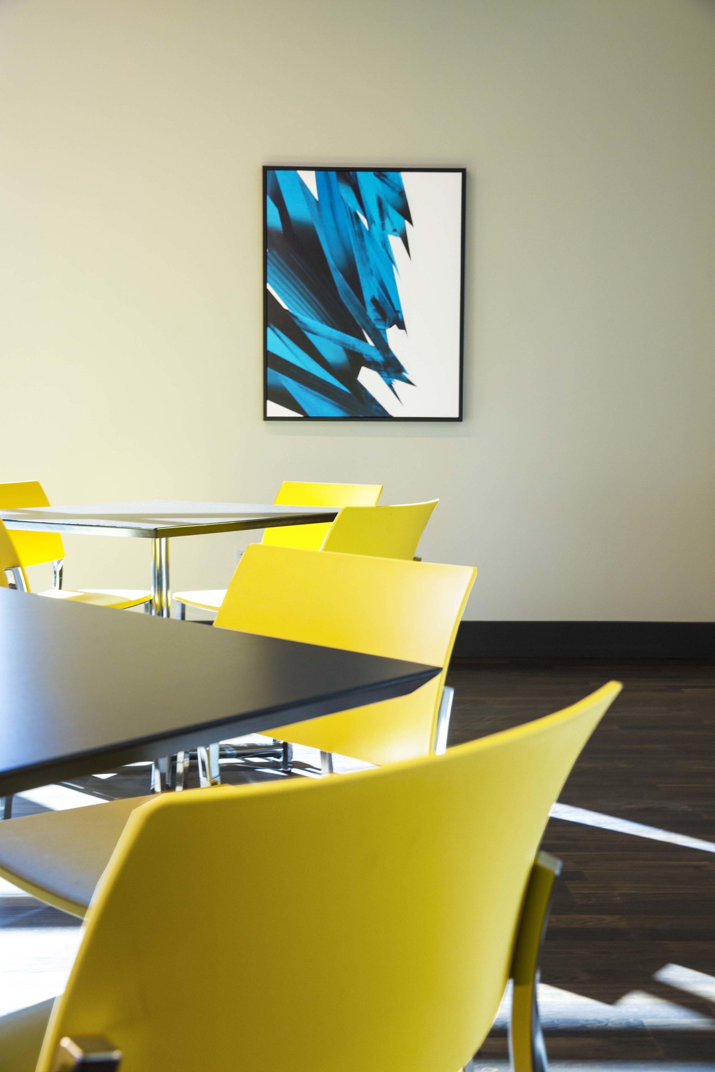 Bar Napkin Productions AvAir Headquarters Interior Design Furniture