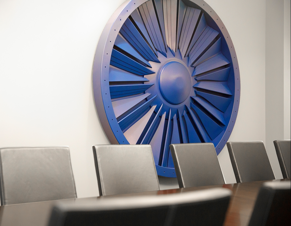 Bar Napkin Productions AvAir Headquarters Conference Room Wall Decor