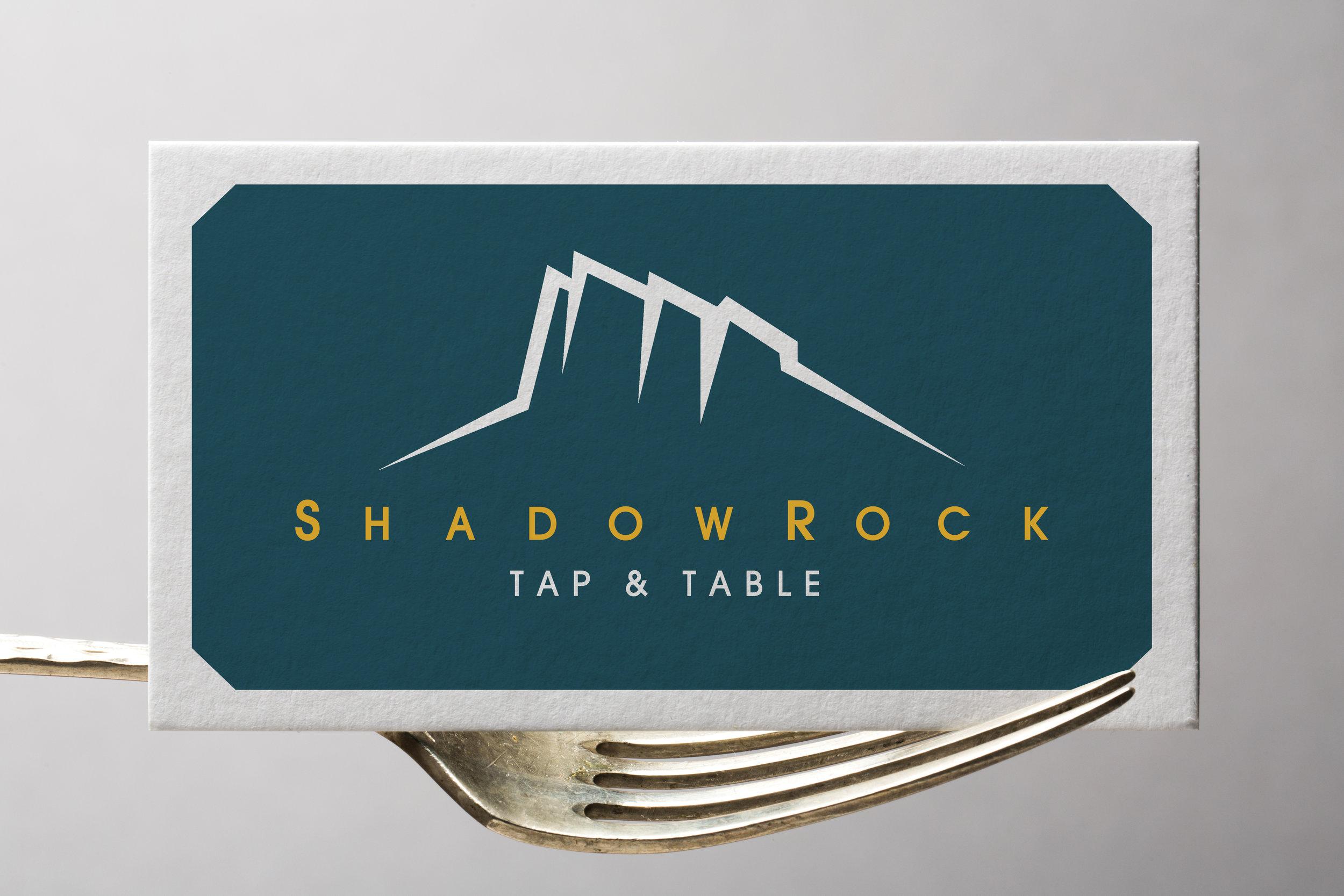 Hilton Sedona Shadowrock Tap & Table Branding Business Cards