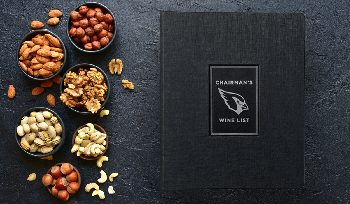 Chairman's Wine List, Arizona Cardinals - Glendale, AZ