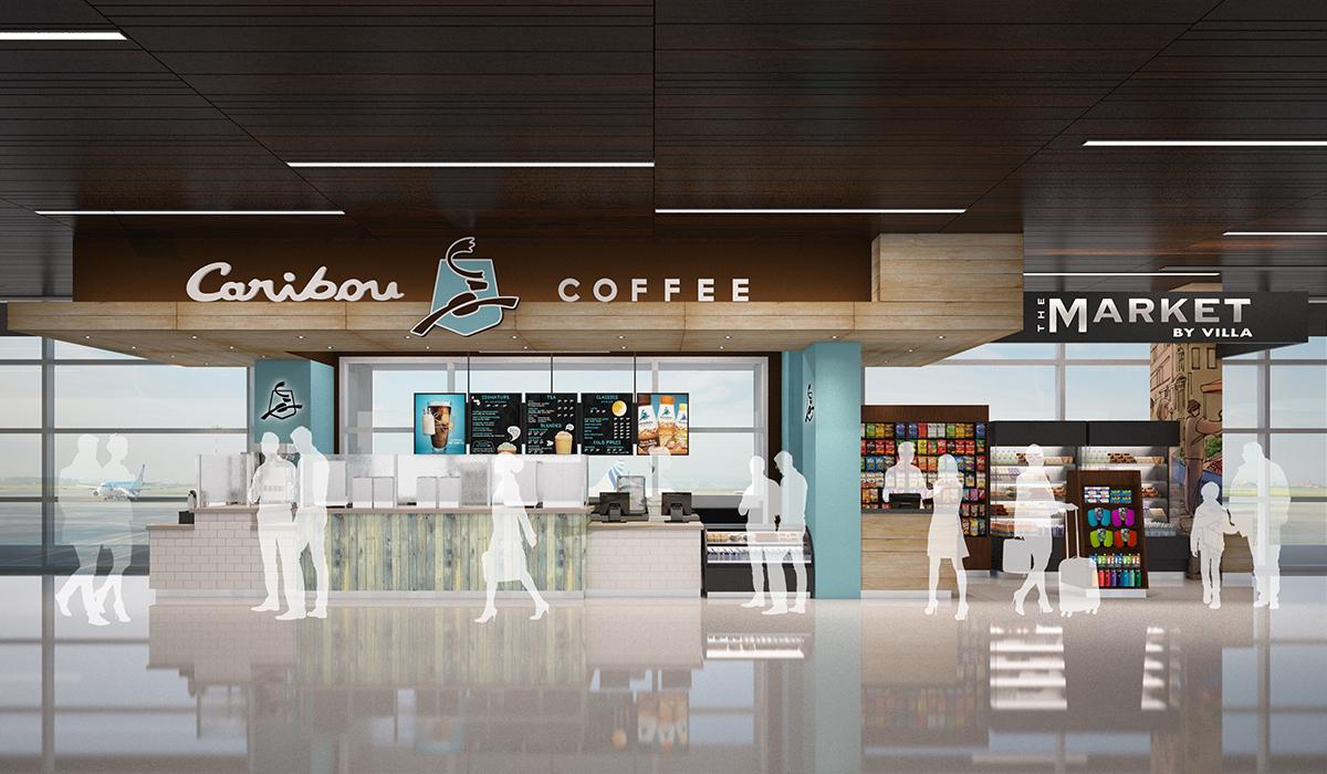Caribou Coffee - Phoenix Sky Harbor Terminal 3
