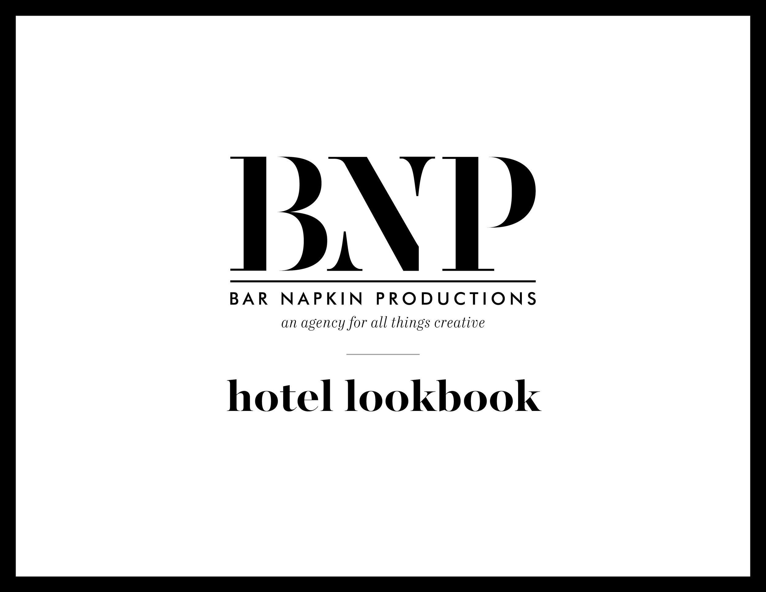 HOTEL LOOK BOOK